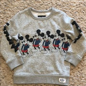 Gap Mickey Mouse sweatshirt